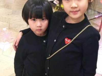 陆毅女儿照片 才知道为什么陆毅两个女儿的样子不像爸妈