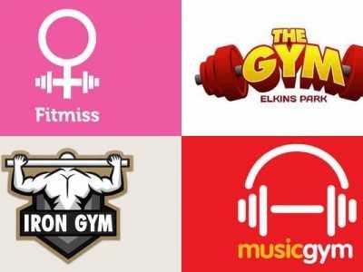 有创意的健身群名字 35个创意健身房和健身标志设计的灵感